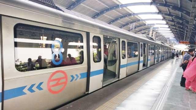 Delhi Metro DTC buses run