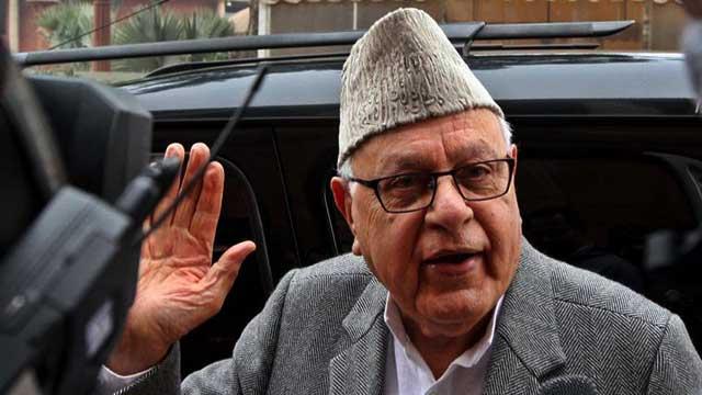 JKNC Farooq Abdullah again raised Indo-Pak talks