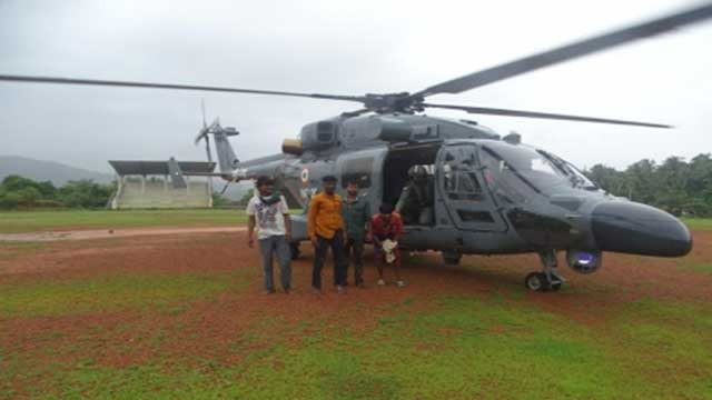 Maharashtra: Armed forces help for flood relief