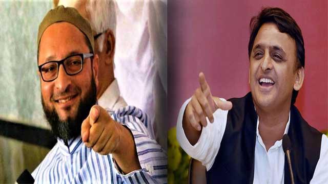 Samajwadi Praty AIMIM allaince 2022 UP Election