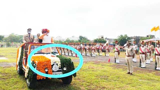 BJP Minister, Dr. Mohan Yadav, Rajgarh Parade Madhya Pradesh