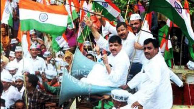 AAP promises peace and prosperity in Uttar Pradesh