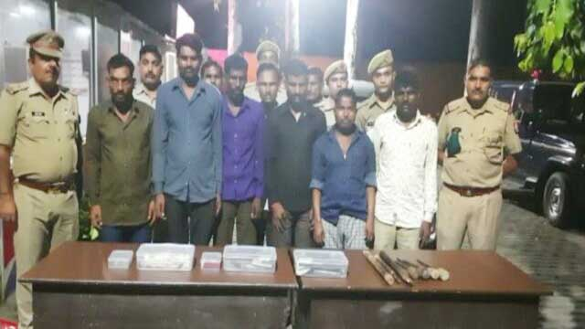 Bavaria gang arrested in Shahjahanpur