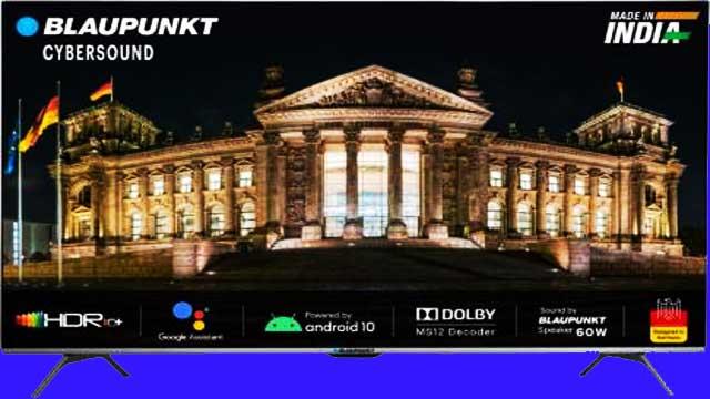 Blaupunkt 4K Android Smart TV India