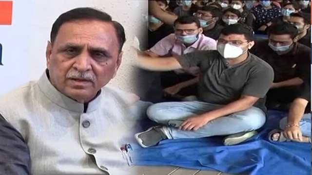 Gujarat CM statement on third day Doctors Strike
