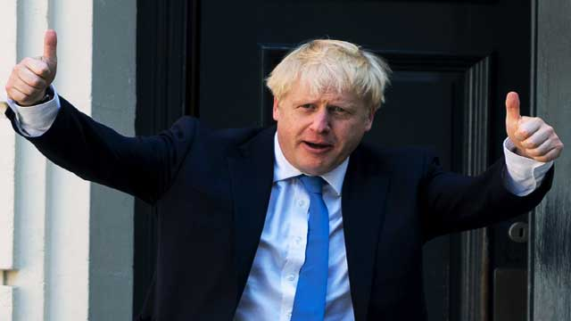 Britain and Taliban work together Boris Johnson
