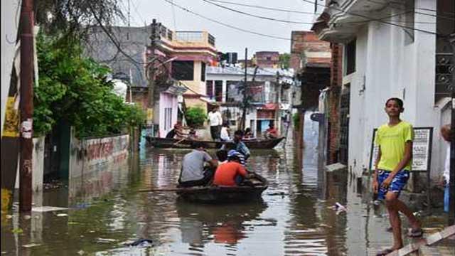 Uttar Pradesh Ganga, Yamuna receding