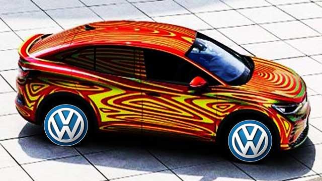Volkswagen ID 5 GTX electric car