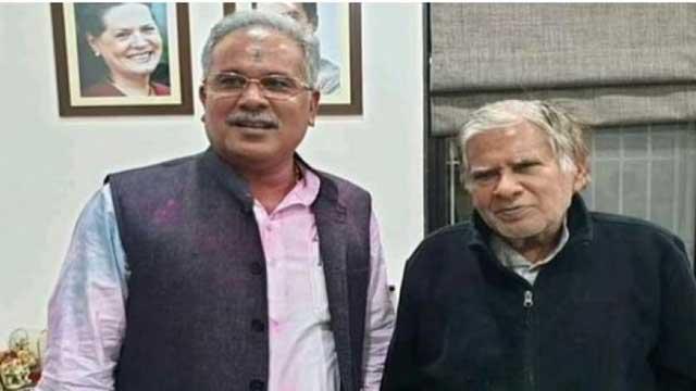 CM Bhupesh Baghel father Nand Kumar Baghel arrested