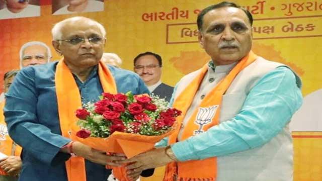 BJP Gujarat New CM Bhupendra Patel