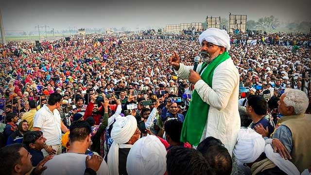 Kisan Mahapanchayat in Haryana Karnal today